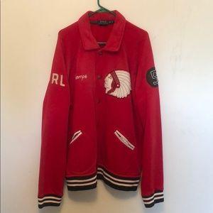 Men's Polo Ralph Lauren Football Varsity Jacket